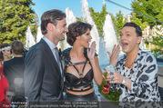 Miss Austria 2016 - Casino Baden - Do 23.06.2016 - Micaela SCH�FER mit Freund Felix STEINER, Julian FM ST�CKEL73