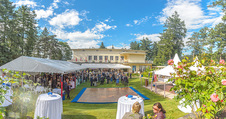 4July - Independence Day Party - Residenz der US-Botschaft - Mi 29.06.2016 - Festg�ste, Park, Party, Gartenfest, Villa14