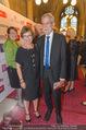 Volkshilfe Gala Nacht gegen Armut - Rathaus - Mi 29.06.2016 - Alexander VAN DER BELLEN mit Ehefrau Doris SCHMIDAUER10