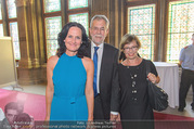 Volkshilfe Gala Nacht gegen Armut - Rathaus - Mi 29.06.2016 - Alexander VAN DER BELLEN, Doris SCHMIDAUER, Eva GLAWISCHNIG17
