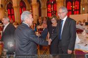 Volkshilfe Gala Nacht gegen Armut - Rathaus - Mi 29.06.2016 - Heinz u Margit FISCHER Alexander VAN DER BELLEN Doris SCHMIDAUER31
