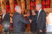 Volkshilfe Gala Nacht gegen Armut - Rathaus - Mi 29.06.2016 - Heinz u Margit FISCHER Alexander VAN DER BELLEN Doris SCHMIDAUER32