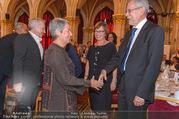 Volkshilfe Gala Nacht gegen Armut - Rathaus - Mi 29.06.2016 - Heinz u Margit FISCHER Alexander VAN DER BELLEN Doris SCHMIDAUER33