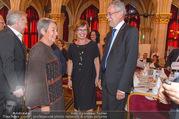 Volkshilfe Gala Nacht gegen Armut - Rathaus - Mi 29.06.2016 - Heinz u Margit FISCHER Alexander VAN DER BELLEN Doris SCHMIDAUER34