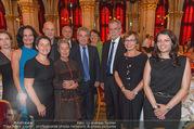 Volkshilfe Gala Nacht gegen Armut - Rathaus - Mi 29.06.2016 - Heinz u Margit FISCHER Alexander VAN DER BELLEN Doris SCHMIDAUER35