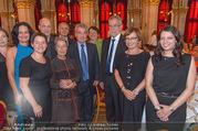 Volkshilfe Gala Nacht gegen Armut - Rathaus - Mi 29.06.2016 - Heinz u Margit FISCHER Alexander VAN DER BELLEN Doris SCHMIDAUER36