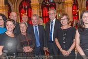 Volkshilfe Gala Nacht gegen Armut - Rathaus - Mi 29.06.2016 - Heinz u Margit FISCHER Alexander VAN DER BELLEN Doris SCHMIDAUER37