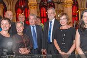 Volkshilfe Gala Nacht gegen Armut - Rathaus - Mi 29.06.2016 - Heinz u Margit FISCHER Alexander VAN DER BELLEN Doris SCHMIDAUER38