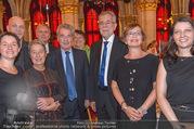 Volkshilfe Gala Nacht gegen Armut - Rathaus - Mi 29.06.2016 - Heinz u Margit FISCHER Alexander VAN DER BELLEN Doris SCHMIDAUER39