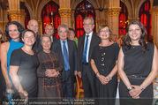 Volkshilfe Gala Nacht gegen Armut - Rathaus - Mi 29.06.2016 - Heinz u Margit FISCHER Alexander VAN DER BELLEN Doris SCHMIDAUER40