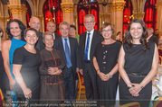 Volkshilfe Gala Nacht gegen Armut - Rathaus - Mi 29.06.2016 - Heinz u Margit FISCHER Alexander VAN DER BELLEN Doris SCHMIDAUER41