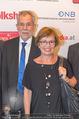 Volkshilfe Gala Nacht gegen Armut - Rathaus - Mi 29.06.2016 - Alexander VAN DER BELLEN mit Ehefrau Doris SCHMIDAUER8