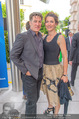 Raiffeisen Sommerfest - Albertina Vorplatz - Do 30.06.2016 - Tobias MORETTI mit Ehefrau Julia15