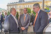 Raiffeisen Sommerfest - Albertina Vorplatz - Do 30.06.2016 - Wolfgang ROSAM, Christoph LEITL, Hansj�rg SCHELLING25