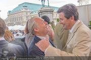 Raiffeisen Sommerfest - Albertina Vorplatz - Do 30.06.2016 - Wolfgang ROSAM, Peter HANKE35