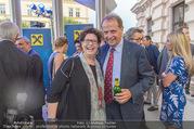 Raiffeisen Sommerfest - Albertina Vorplatz - Do 30.06.2016 - Markus LIEBL, Christine MAREK50