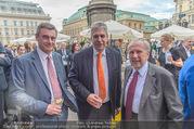 Raiffeisen Sommerfest - Albertina Vorplatz - Do 30.06.2016 - Heinrich SCHALLER, Hansj�rg SCHELLING, Ewald NOWOTNY51
