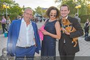 Premiere Seefestspiele - Mörbisch - Do 07.07.2016 - Konstanze BREITEBNER mit Ehemann Peter MAZZUCHELLE, Stefan SCH.23