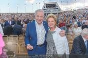 Premiere Seefestspiele - Mörbisch - Do 07.07.2016 - Harald SERAFIN mit Ehefrau Ingeborg68