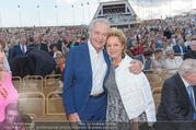 Premiere Seefestspiele - Mörbisch - Do 07.07.2016 - Harald SERAFIN mit Ehefrau Ingeborg69