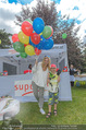 Superfit Kinderevent - Park bei der Kinderuni - Di 12.07.2016 - Sylvia GRAF mit Sohn Moritz9