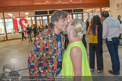Ai Weiwei Opening - 21er Haus - Di 12.07.2016 - Hubertus HOHENLOHE, Agnes HUSSLEIN105