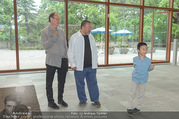Ai Weiwei Opening - 21er Haus - Di 12.07.2016 - AI Weiwei mit Sohn Lao AI, Alfred WEIDINGER16