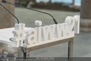 Ai Weiwei Opening - 21er Haus - Di 12.07.2016 - Hashtag am Rednerpult3