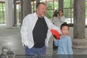 Ai Weiwei Opening - 21er Haus - Di 12.07.2016 - AI Weiwei mit Sohn AI Lao33