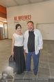 Ai Weiwei Opening - 21er Haus - Di 12.07.2016 - AI Weiwei mit Freundin WANG Fen38