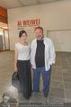 Ai Weiwei Opening - 21er Haus - Di 12.07.2016 - AI Weiwei mit Freundin WANG Fen39