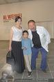 Ai Weiwei Opening - 21er Haus - Di 12.07.2016 - AI Weiwei mit Freundin WANG Fen und Sohn AI Lao41