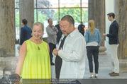 Ai Weiwei Opening - 21er Haus - Di 12.07.2016 - AI Weiwei, Agnes HUSSLEIN59