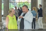 Ai Weiwei Opening - 21er Haus - Di 12.07.2016 - AI Weiwei, Agnes HUSSLEIN60