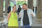 Ai Weiwei Opening - 21er Haus - Di 12.07.2016 - AI Weiwei, Agnes HUSSLEIN62