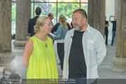 Ai Weiwei Opening - 21er Haus - Di 12.07.2016 - AI Weiwei, Agnes HUSSLEIN63