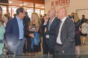Ai Weiwei Vernissage - 21er Haus - Mi 13.07.2016 - 34