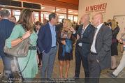 Ai Weiwei Vernissage - 21er Haus - Mi 13.07.2016 - 35