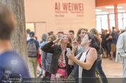 Ai Weiwei Vernissage - 21er Haus - Mi 13.07.2016 - 71