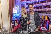 Fashion for Europe - Staatsoper - Do 14.07.2016 - Andy MORAVEC mit Freundin Tanja86