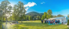 Premiere - Gutenstein - Do 21.07.2016 - Cocktailempfang vor Beginn im Park1