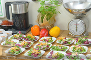 Spar Veganz Präsentation - Kochstelle - Di 26.07.2016 - Das Essen, Gerichte, Zubereitung18