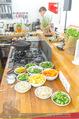 Spar Veganz Präsentation - Kochstelle - Di 26.07.2016 - Das Essen, Gerichte, Zubereitung19
