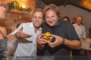 Opening - Le Burger Restaurant - Di 09.08.2016 - Lukas TAUBER, Heinz HANNER49