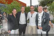 Goldbach Media Sommerfest - WU Wien Mensa - Do 25.08.2016 - Raoul GERBER, Maurizio BERLINI, Christian RAUSCH, Franz PRENNER1