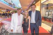 VIP Opening - Plus City Linz - Mi 31.08.2016 - Richard LUGNER mit Sohn Andreas und Tochter Jacqueline85