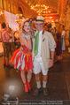 10. Trachtenpärchenball Teil 1 - Rathaus - Fr 09.09.2016 - Louie AUSTEN mit Almdudler Trachtenp�rchen (bodypainting)97