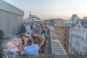 Trachten Award 2016 - Erste Bank Lounge - Mo 12.09.2016 - Dachterrasse, Sommer, Cocktail, Party, feiern, Wien174