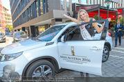 Miss Austria PK - Rochus - Do 15.09.2016 - Dragana STANKOVIC mit ihrem neuen Auto36