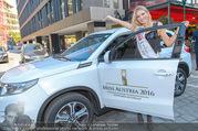 Miss Austria PK - Rochus - Do 15.09.2016 - Dragana STANKOVIC mit ihrem neuen Auto37